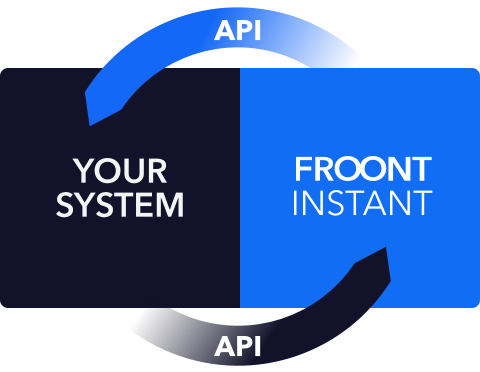 Froont Instant Page Builder integration
