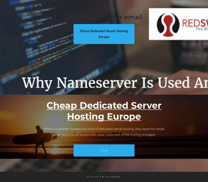 Cheap Dedicated Server Hosting Europe | VPS Providers by Red